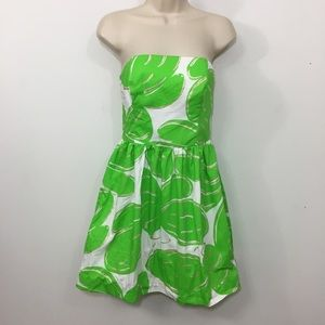 Lilly Pulitzer cotton strapless sweetheart dress 2